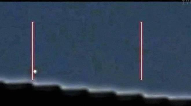 ufo sui tetti di savona