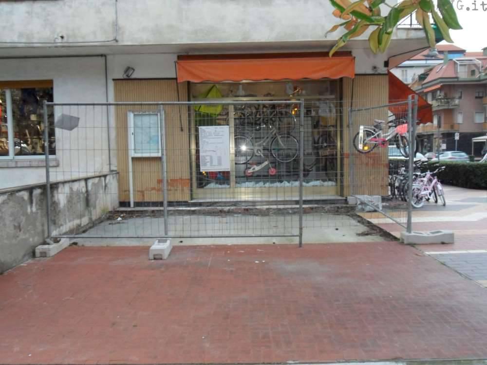 anselmo bici loano: protesta commerciante