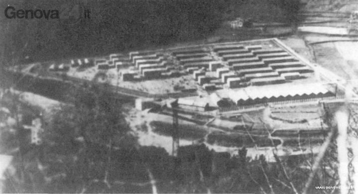 campo concentramento calvari, coreglia ligure