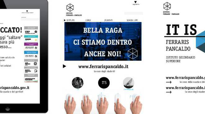 Poster Itis Ferraris Pancaldo nuovo sito