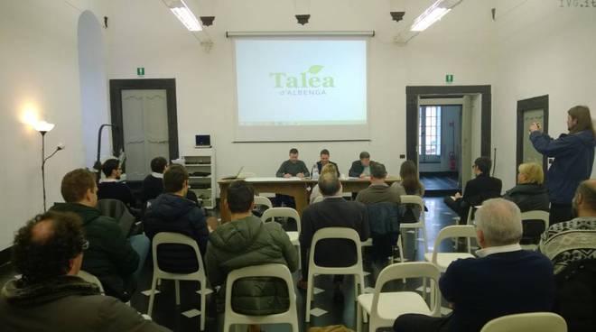 presentazione lista Talea d'Albenga