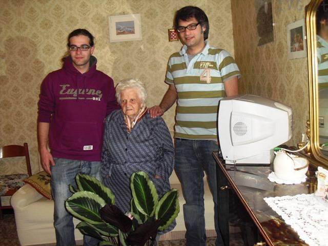 Rina, centenaria di rialto (106 anni)
