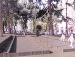 Savona Piazza del Popolo progetto giardini