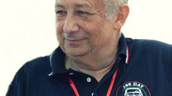 stelio yannoulis, presidente fiat club 500 italia