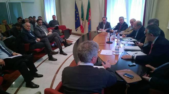 Vertice Piaggio in regione