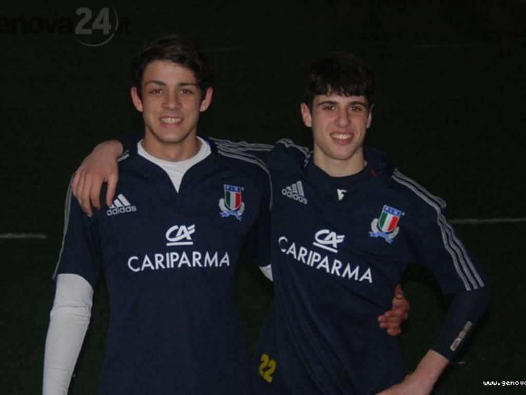 Alessandro Regestro e Gabriele Leveratto