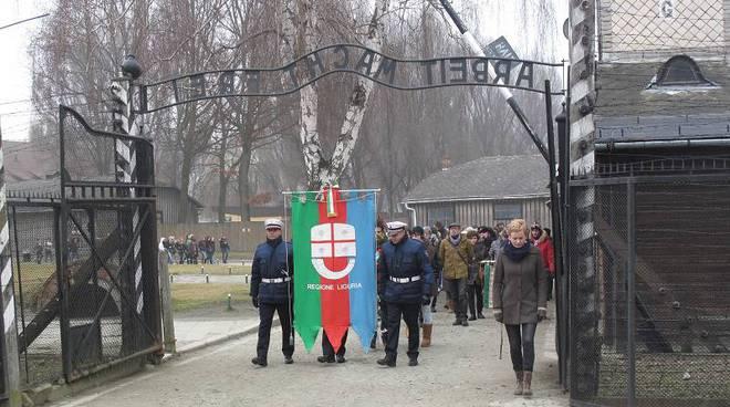 Auschwitz-Birkenau studenti liguria giorno memoria