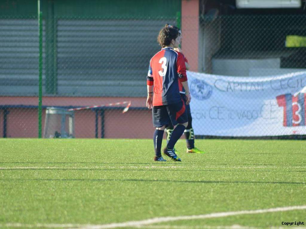 Calcio femminile Progetto Giovani Albenga