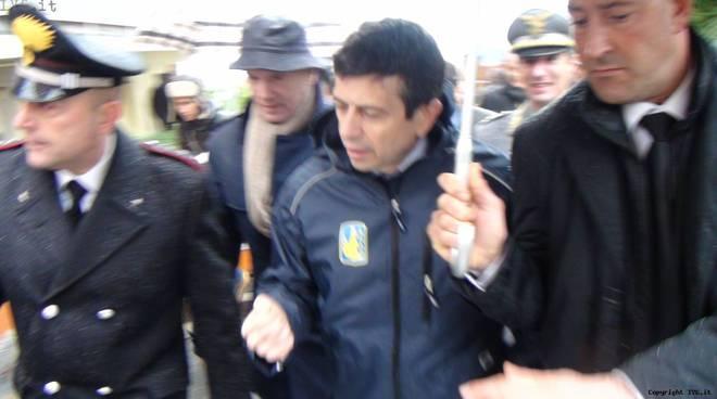 Deragliamento Andora sopralluogo ministro Maurizio Lupi