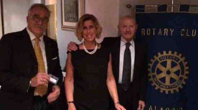 Emanuela Preve nuovo socio Rotary