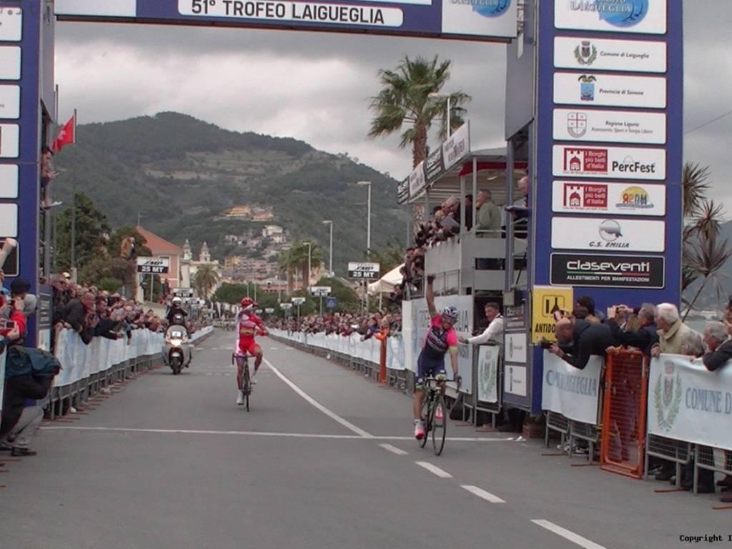 Jos? Rodolfo Serpa Perez vince trofeo Laigueglia