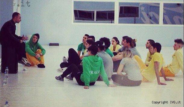 Miriam Masala maglia verde
