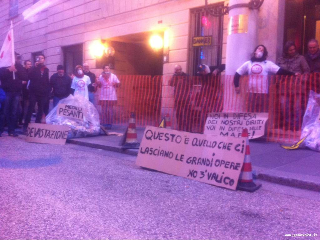 no tav terzo valico manifestazione 22 febbraio 2014