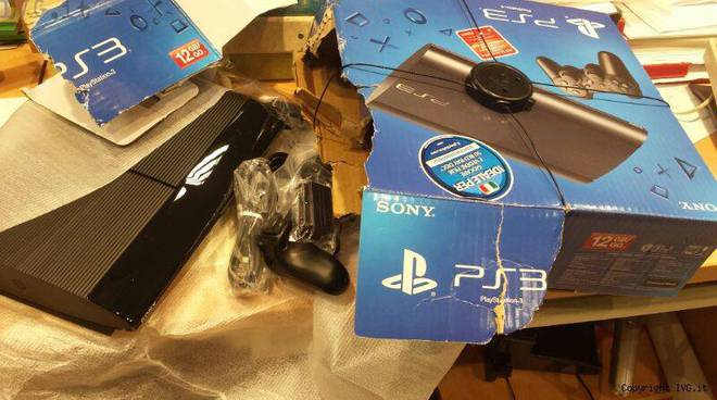 playstation rubata