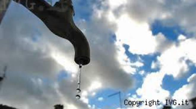 rubinetto acqua del sindaco