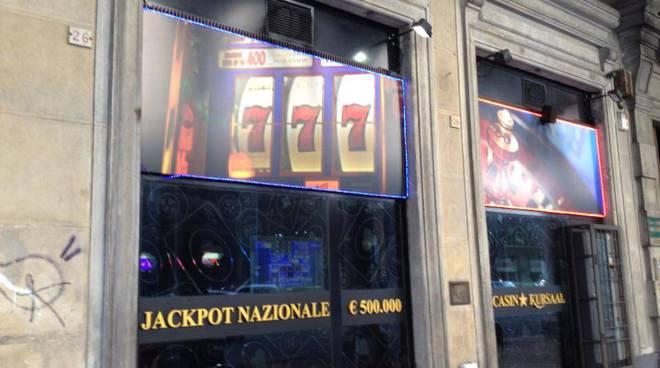 sala gioco video lottery slot azzardo