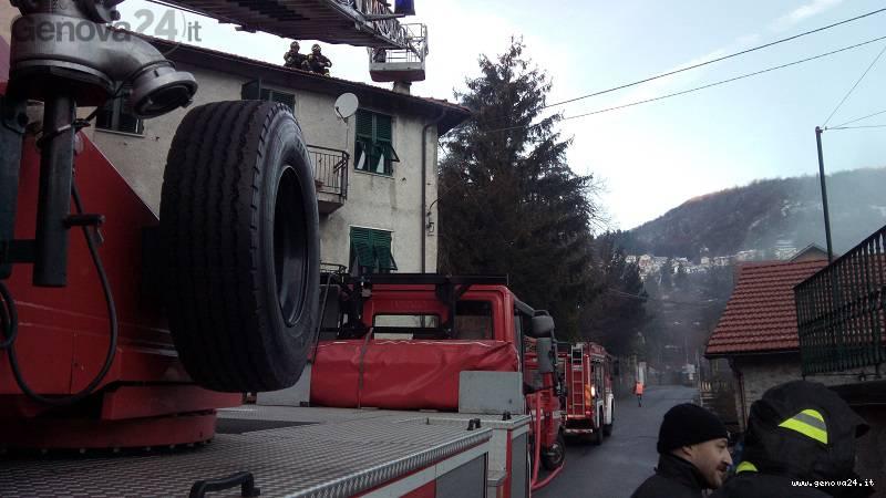 savignone vigili del fuoco