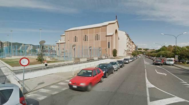 Savona corso Colombo Sacro Cuore