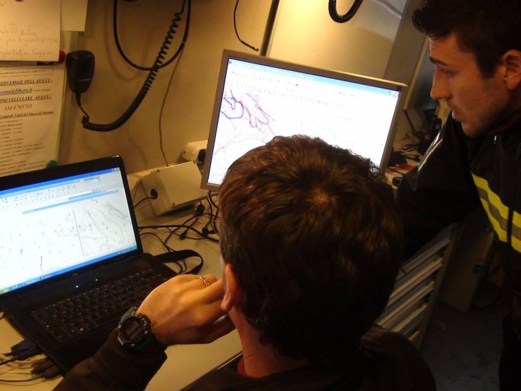 Soccorso alpino protezione civile ricerche disperso