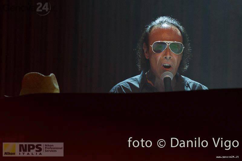 Antonello Venditti in concerto a Genova