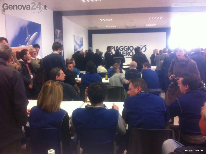 assemblea piaggio aero sestri ponente