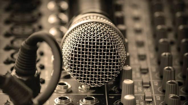 canto musica microfono