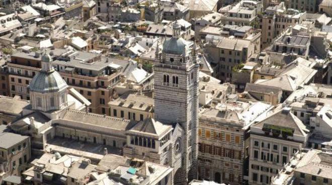 cattedrale san lorenzo, centro storico genova