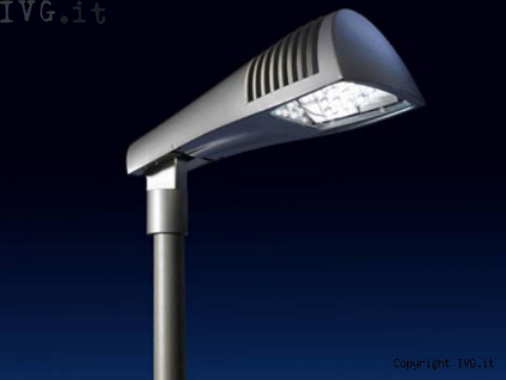 illuminazione lampione led