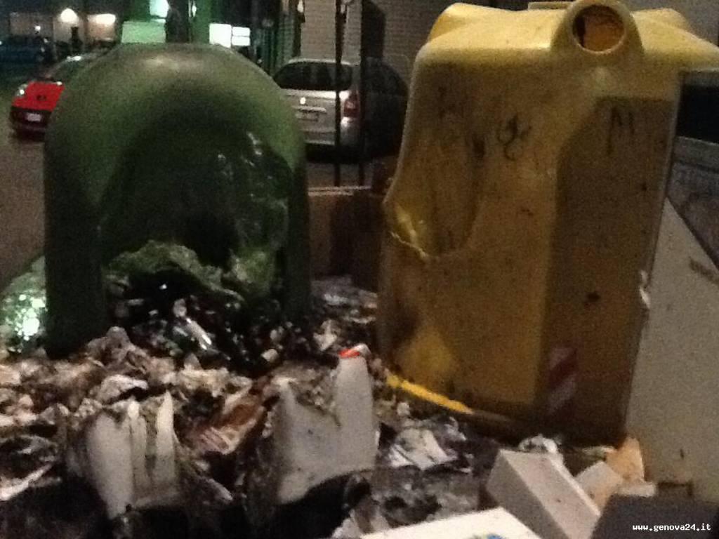 incendio cassonetti