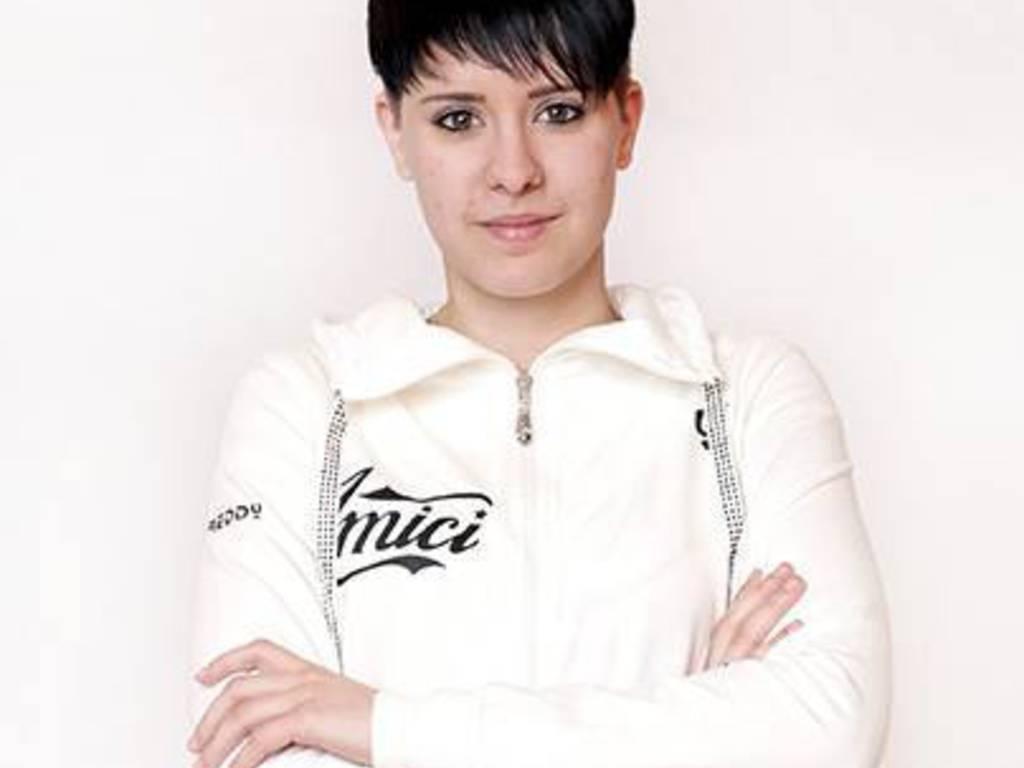 Miriam Masala maglia bianca
