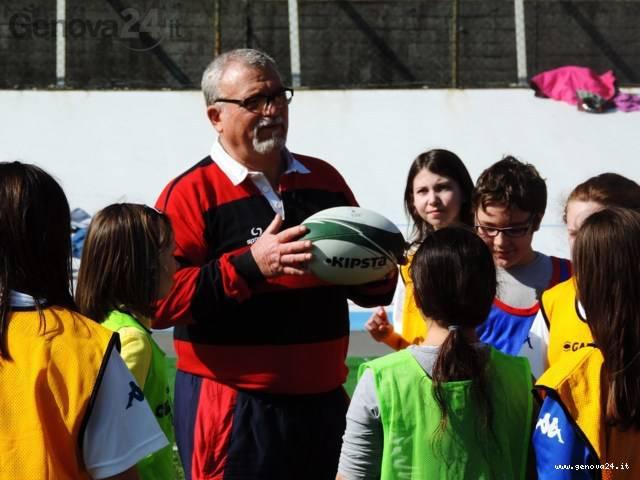Patrizio Parente, presidente del Genova Rugby