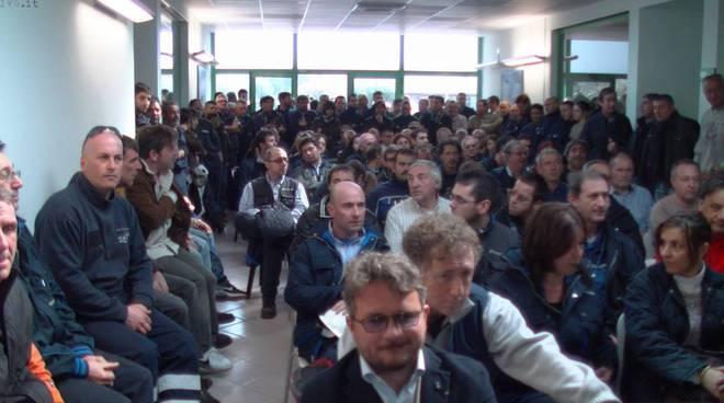 Sequestro Tirreno Power, incontro tra i lavoratori e i sindaci di Vado e Quiliano