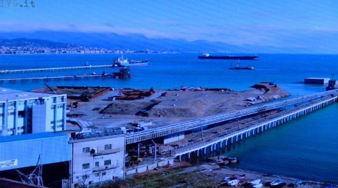 Sopralluogo piattaforma Maersk