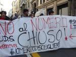 studenti protesta numero chiuso