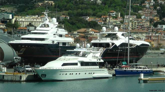 Inaugurazione area superyacht marina di loano