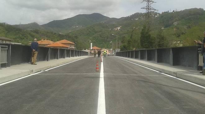 ponte carasco inaugurazione foto da fb I non morti