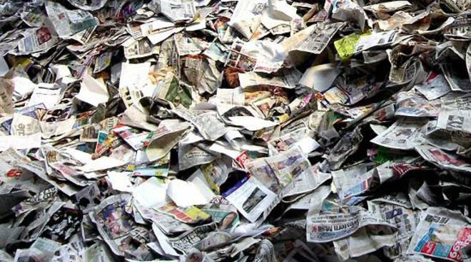 riciclo aperto carta