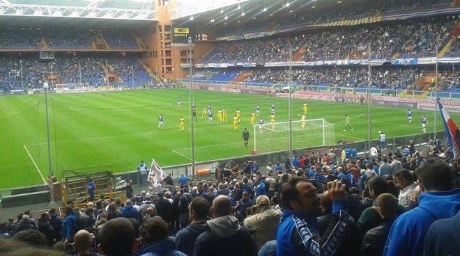 sampdoria chievo aprile 2014