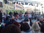stand maratona e storia in piazza
