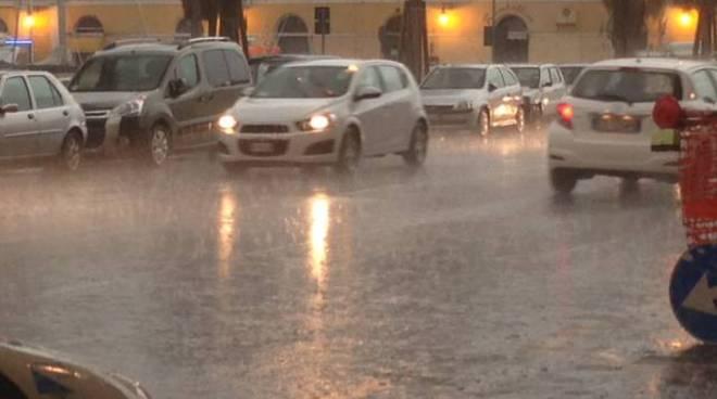 temporale pioggia savona