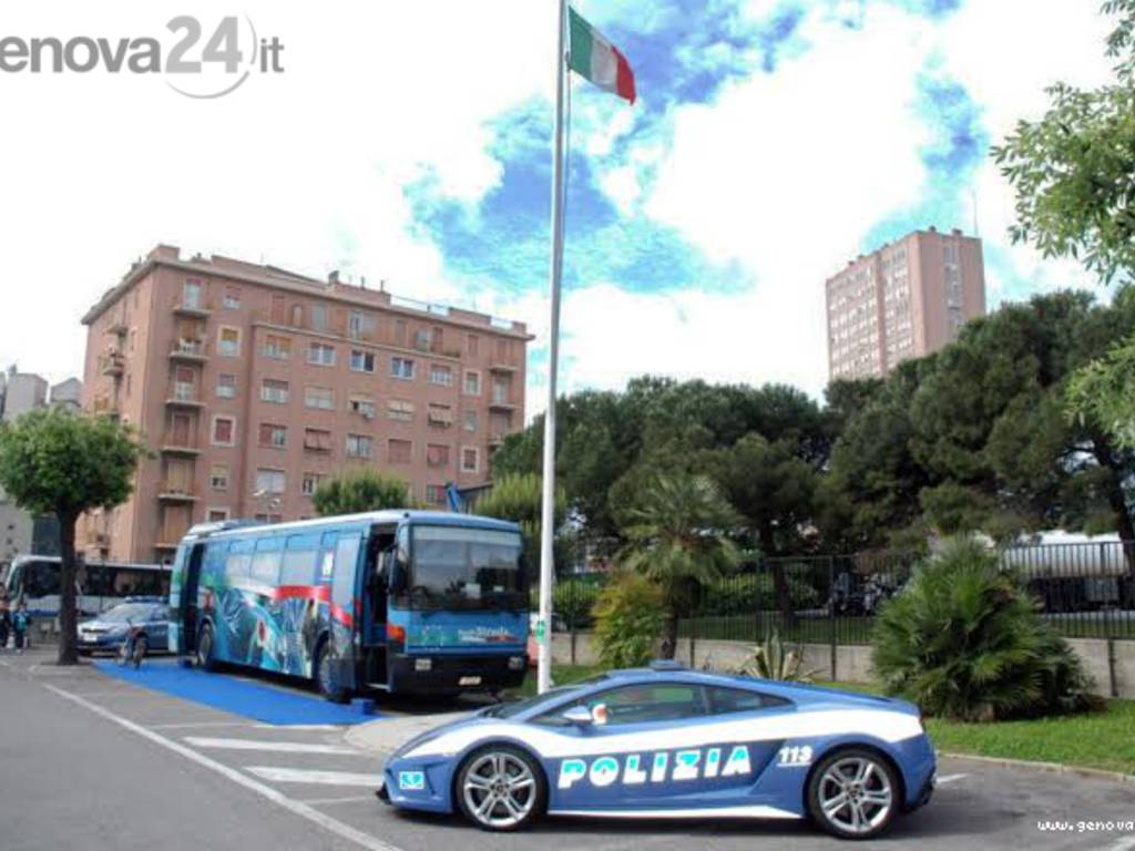 anniversario polizia stradale sampierdarena