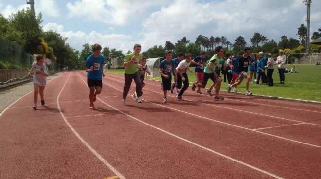 Atletica Meeting Arcobaleno scuola 2014