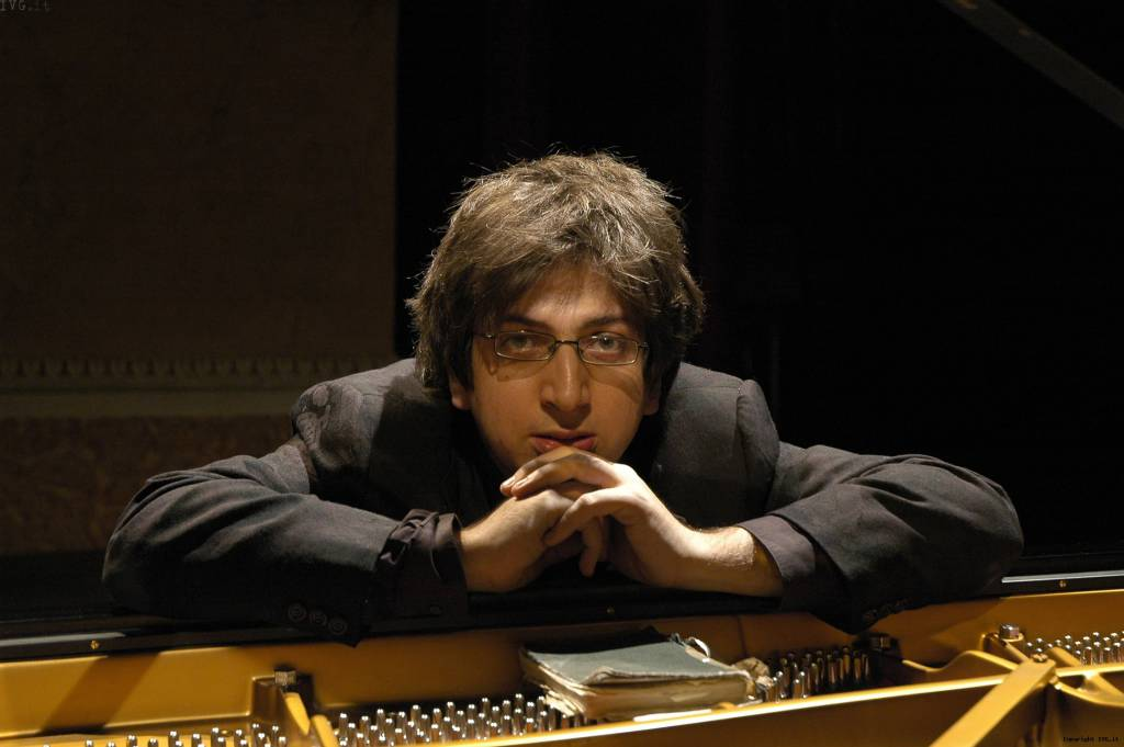 Il pianista Ramin Bahrami