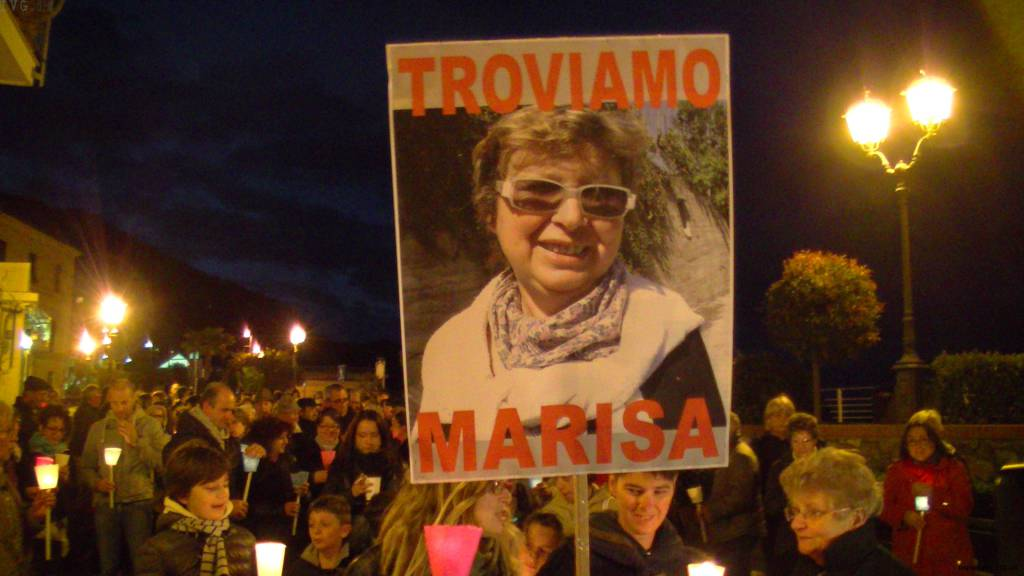 Laigueglia - fiaccolata Marisa Comessatti