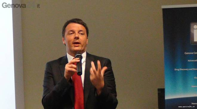 matteo renzi all'iit