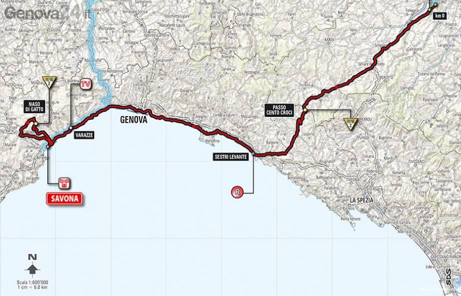 percorso giro d'italia 2014