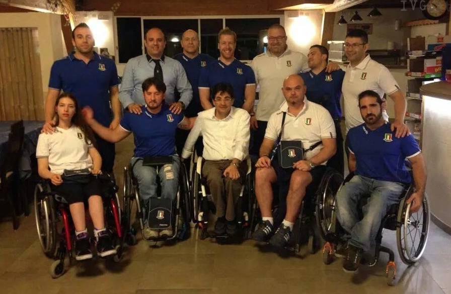 raduno nazionale pesistica paralimpica bologna