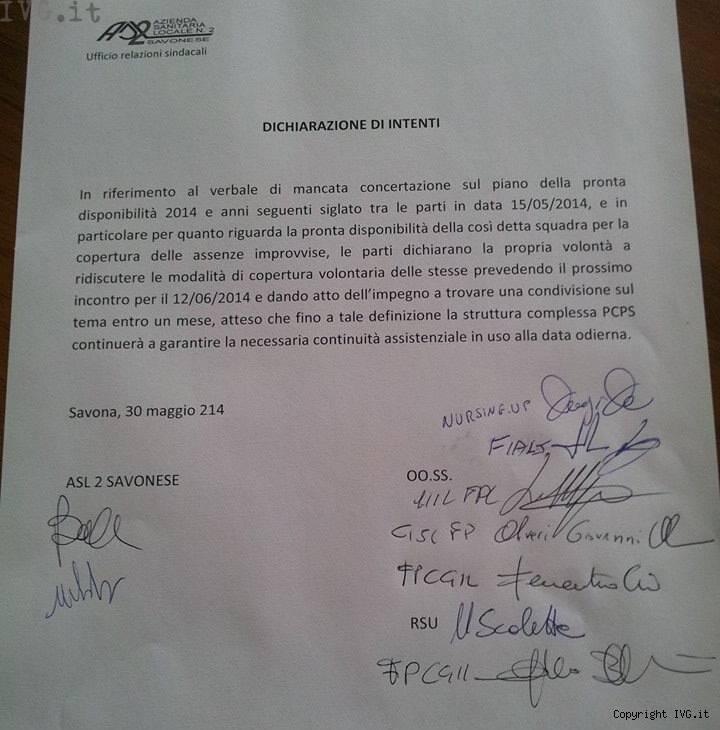 reperibilita obbligatoria documento