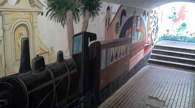 sori stazione murales