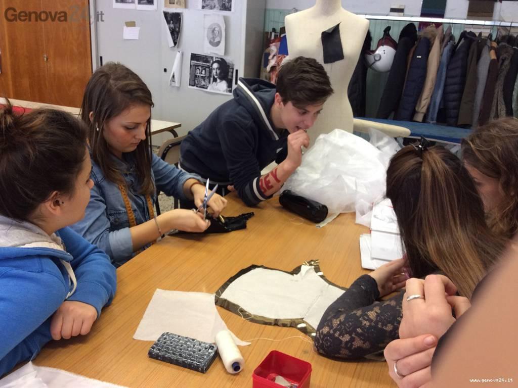 studenti stilisti rapallo sfilata